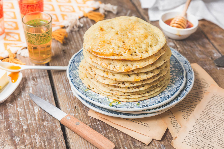 Baghrir ou des crêpes à mille trous pour mille saveurs